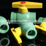 All plastic ball valve with steel ball or copper ball