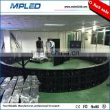MPLED outdoor/indoor high quality column led cabinet especially for hotel/conference room