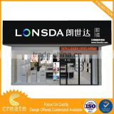 Factory Direct Wholesale toy floor displays for supermarket jewelry and watch display cabinet