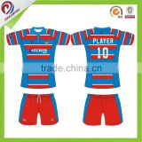 best quality wholesales sublimation rugby football jersey, rugby training shirt