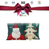 Alibaba gold supplier Wholesale 2016 Soft pillow Santa Claus Christmas gift holiday stuffed toy for kids