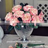 Fashion is pure and fresh European classical single roses zadeh simulation flowers shoot silk flowers decorated fake props