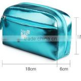 2016 wholesale Factory high quality PU gloss cosmetic bag