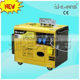 4.6KVA portable silent diesel generator automatic transfer switch