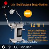 Permanent BU-1201B 12 In 1 Multifunction Beauty Equipment For Salon Pigmentinon Removal