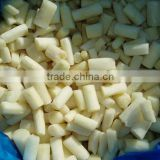 2016 crop Chinese frozen iqf white asparagus center cuts