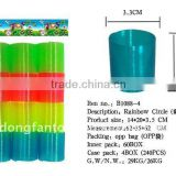 Transparent Magic Rainbow Spring Toy B1088-4