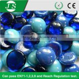 Beautiful new coming flat glass gems for decoration