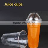 Cups & Saucers Drinkware Type and FDA Certification plastic PET disposable tea cup for coffee