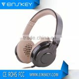 3.5 mm 4 pin single side headphone ear cushions jack with mic