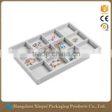 Wholesale jewellery holder velvet jewelry display tray                                                                         Quality Choice
