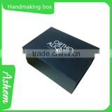 Hot sell packing printing hardcover paper gift box for perfume with customized design, DL240