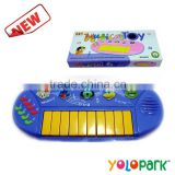 Children cartoon toy,Electric Organ Toy Musical Instrument Children Electronic Organ Toys