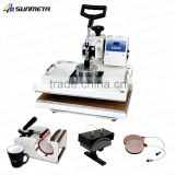 Sunmeta Manufacturer T-Shirt Mugs Caps Printing 5 in 1 Combo Heat Press Machine (SB400A)