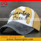 Baseball Cap Sports Cap Type and Common Fabric Feature 100% cotton Custom Baseball Caps
