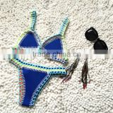 Sexy Crochet Bikini Bra,Handmade Swimwear Crochet Women Bra                                                                         Quality Choice