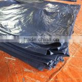 car cover sheet tarpaulin PP material grommets double orange colour triangle plastic rope waterproof anti-aging antioxidant