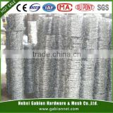 2015 hot sale 2.5mm core wire dia Barbed Wire(Anping factory, ISO, SGS Quality)