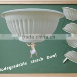 Disposable Bowl eco rice bowl corn starch bowl EU FDA