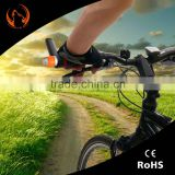 Multi-function led bicycle bike silicone handlebar safety lamp light with magnet and high quality