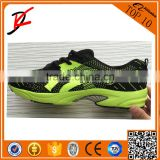 Fly knit upper running shoes/men's sports shoes, wholesale price prompt delivery fashion running footwears