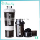 Beauchy 2016 OEM logo BPA free plastic shaker bottles, final factory price                                                                         Quality Choice
