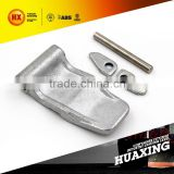 container door parts: contain door hinge: lock pin,hinge plug, hinge blade