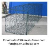 High quality welded gabion/hesco barrier /stone basket wall