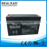 rechargeable battery 6volt 20hr 6v 10ah battery for alarm system