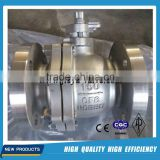factory wholesale casting flange ball valves, stainless steel ball valve price