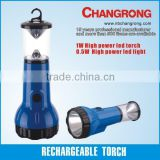 high power rechargeable electric torch