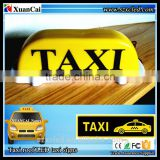 New! 2015 Hot sales 12V Taxi roof light Car Top sign outside waterproof un-programable LED TAXI display/panel/screen