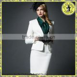 2015 Ladies Blazer Designs White Business Suit