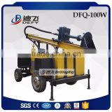 100m Air Compressor Dfq-100W DTH Hammer Water Bore Well Drilling Machine Prices for Sale