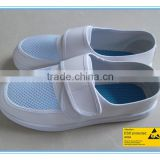 anti-static feature PU outsole material white leather upper material made in Vietnam shoes