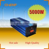 Chenf 5000W Low Consumption Energy Saving Off Grid 48V 110VDC to 230V 240VAC Pure Sine Wave Power Inverter