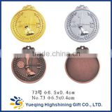 73# High Quality gold silver bronze sports factory directly sale metal prize award souvenir archery contest medal                                                                         Quality Choice