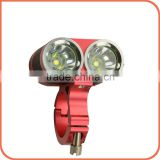 New arrival cycling light XM-U2 1900lm 150m irradiation battery powered hunting head light
