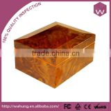 Special design wooden packaging gift box wholesale (WH-0812A)