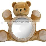2014 New design Bear toy back seat mirror for baby
