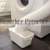 White PVC Tumble Dryer Vent Hose