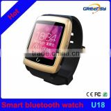 GR-U18 GPS Bluetooth Smart Watch U18 For IOS Android Dual-core ROM 4GB Touch Screen Wifi Internet Smart Wristwatch BLT 4.0