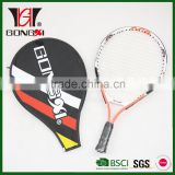 MiNi age 19 good quality aluminium alloy baby tennis racket with tennis bag/tennis racket manufacturers