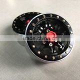 "RC 1:10 Car Rock Crawler 1.9"" Wheel Rim Aluminum Beadlock"