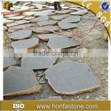 Outdoor decorative natural grey slate stepping stone