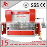 WE67K 2015 new design hot sale sheet metal machinery, hydraulic plate bending machine price with cnc control
