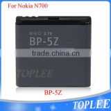 BP-5Z battery For Nokia AKKU ACCU 700 N700 Zeta