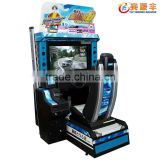 "Timeless Classics---32"" HD Crazy Initial D 5/6AA arcade play free racing car game machine"