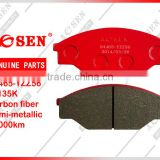 Brake pad 04465-YZZ56/D303/A-135K for TOYOTA HIACE CAR
