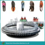Rotary Plastic PU Shoe Insoles Making Machine For Shoes